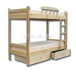 Двухъярусная кровать Буратино